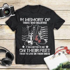 Veteran In memory of those who die on their feet 9bfbe4242116